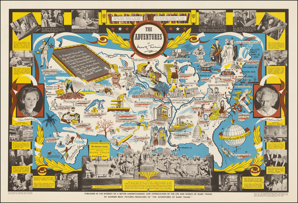 7-United States and Pictorial Maps Map By Robert Blattner