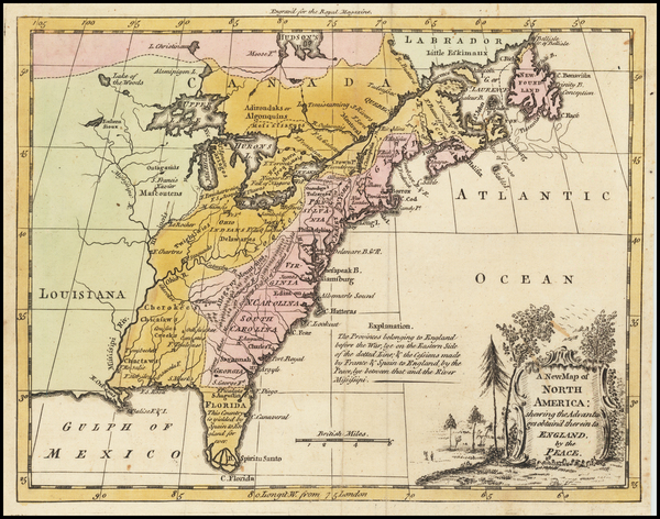 Antique maps of the United States - Barry Lawrence Ruderman