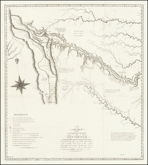 Texas, Plains, Southwest and Rocky Mountains Map By Zebulon Montgomery Pike