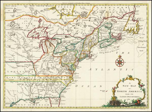37-United States Map By John Spilsbury