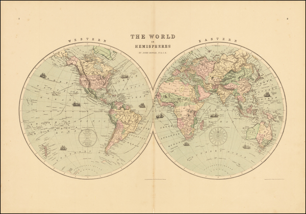 97-World Map By J. David Williams