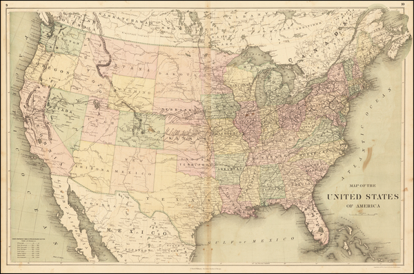 26-United States Map By J. David Williams