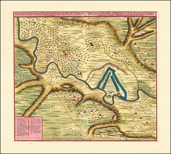 78-Ukraine and Romania Map By Nicolaes Visscher II