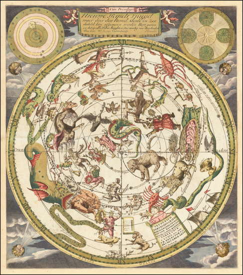 Celestial Maps Map By Andreas Van Luchtenburg