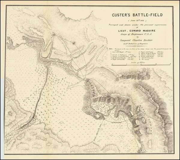 18-Montana and Wyoming Map By U.S. Army Corps of Engineers