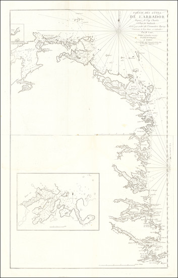 9-Canada Map By George Louis Le Rouge