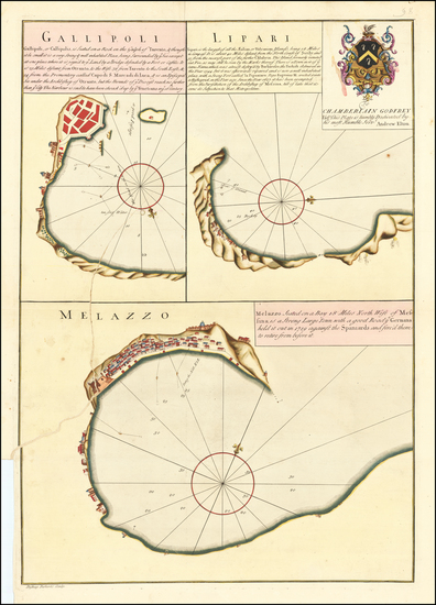 4-Southern Italy Map By Andrew Elton  &  Bishop Roberts