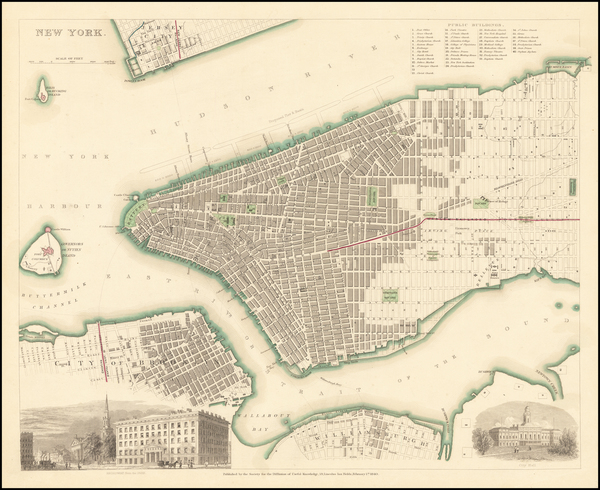 10-New York City Map By SDUK