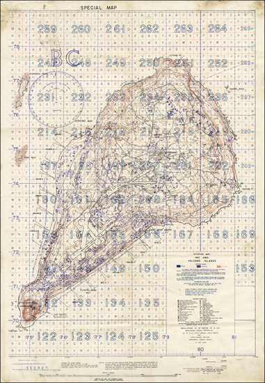 0-Japan, Other Pacific Islands and World War II Map By Intelligence Section, Amphibious Forces Pa