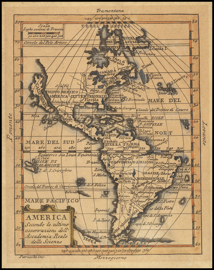 7-California as an Island and America Map By Giovanni Petroschi