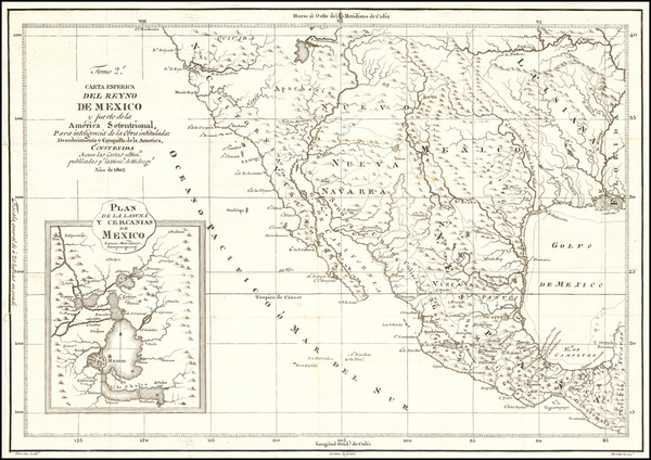 39-South, Texas, Plains, Southwest, Rocky Mountains, Mexico, Baja California and California Map By