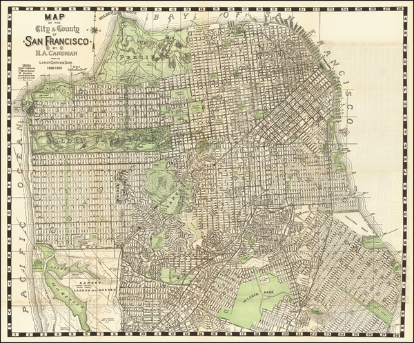 59-California Map By H.A. Candrian