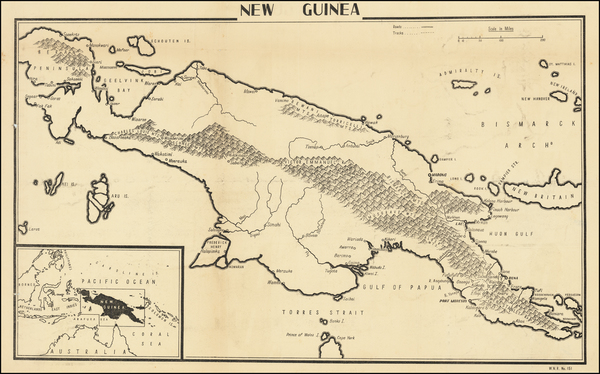 66-Indonesia and Other Pacific Islands Map By C. P. D.