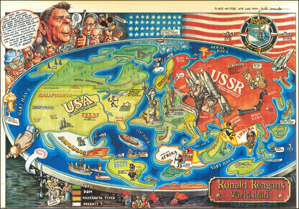 United States and Pictorial Maps Map By