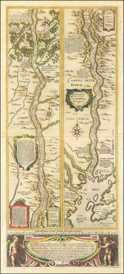 70-Russia and Ukraine Map By Willem Janszoon Blaeu