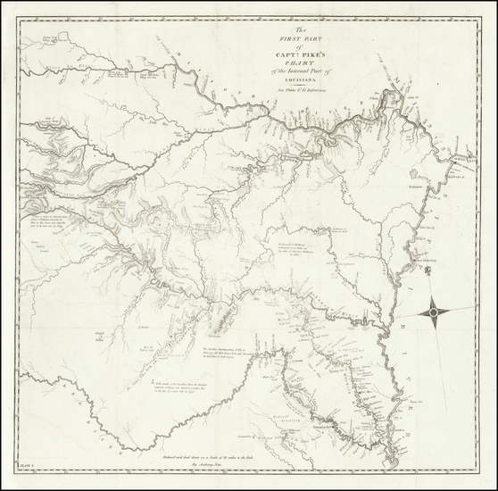 55-Louisiana, Arkansas, Texas, Kansas, Missouri, Nebraska and Oklahoma & Indian Territory Map