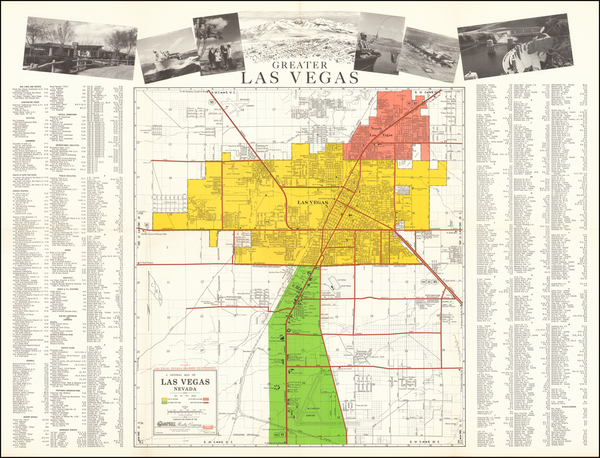 Nevada Map By Campbell Realty Company