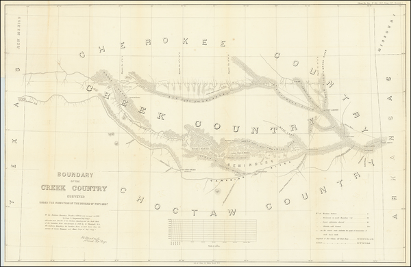 59-Plains and Oklahoma & Indian Territory Map By United States War Dept.