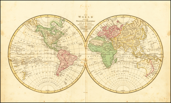 World Map By Robert Wilkinson
