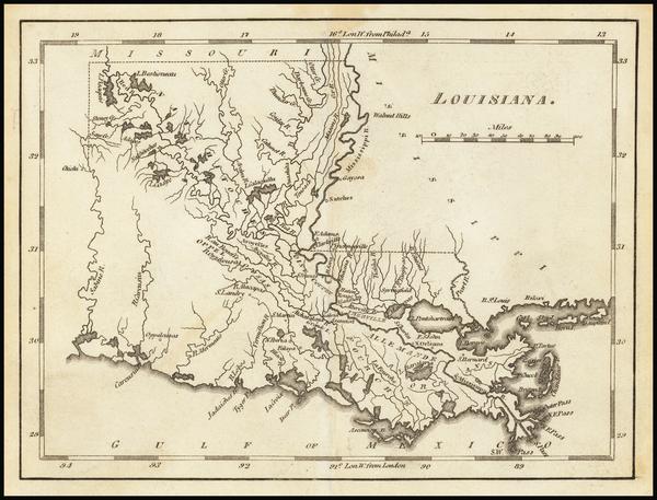 78- Map By Mathew Carey