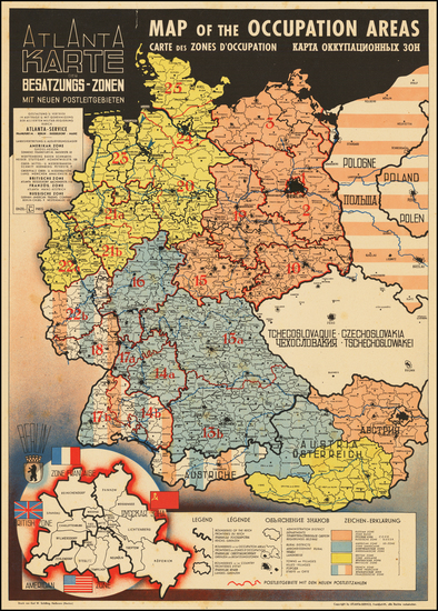 14-Europe, Germany, Poland, Czech Republic & Slovakia, Baltic Countries and World War II Map B