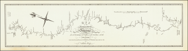 33-South, Texas, Plains and Southwest Map By George T. Dunbar / Nicholas King