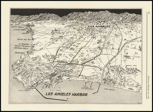 61-Los Angeles Map By Anonymous