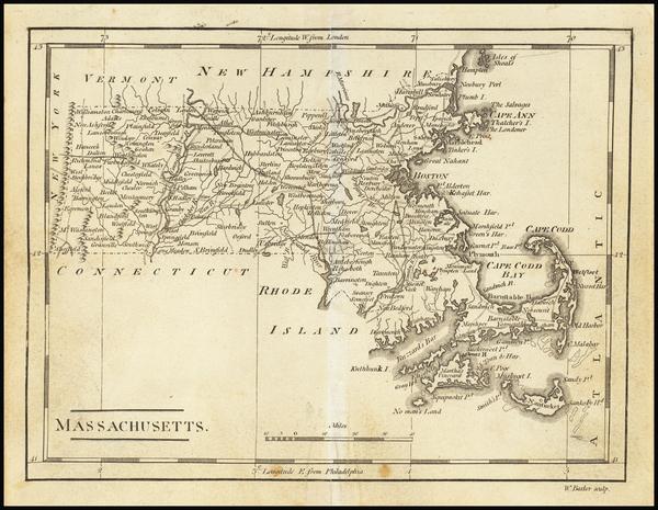 34- Map By Mathew Carey