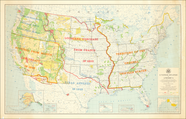 59-United States Map By U.S. Geological Survey