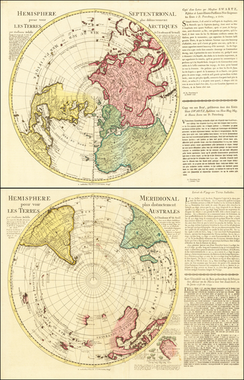 10-Southern Hemisphere, Polar Maps, Australia and New Zealand Map By Reiner & Joshua Ottens