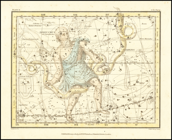 63-Celestial Maps Map By Alexander Jamieson