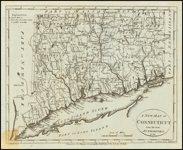 2-Connecticut Map By John Payne