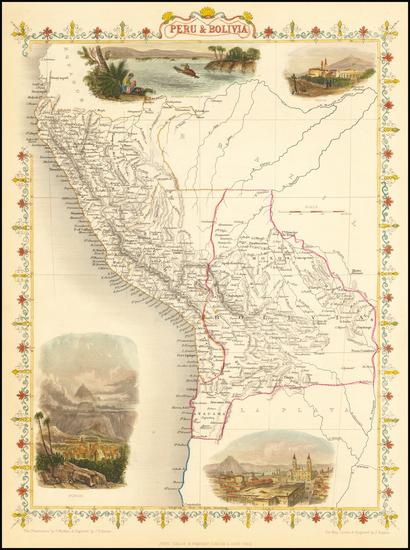 4-Peru & Ecuador Map By John Tallis