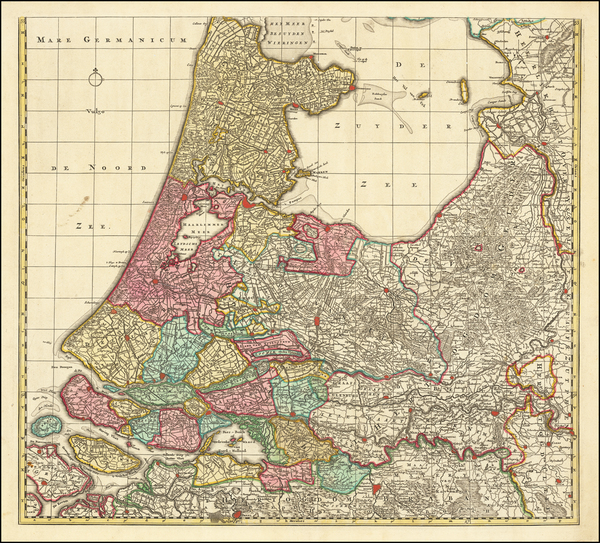 52-Netherlands Map By Peter Schenk