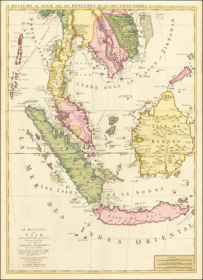 32-Southeast Asia, Singapore, Malaysia and Thailand, Cambodia, Vietnam Map By Pieter Mortier