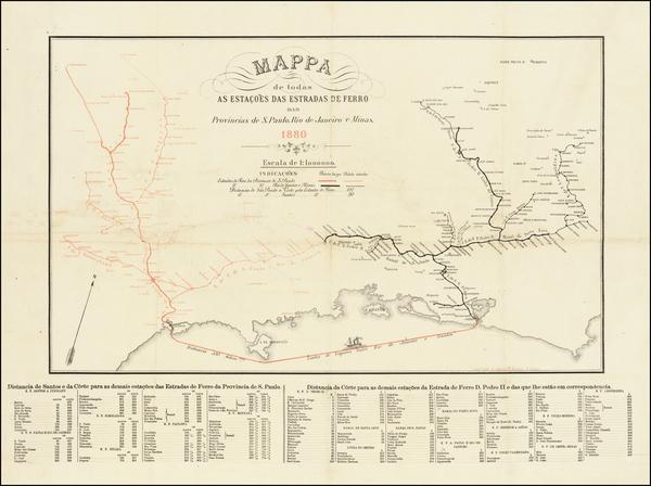 74-Brazil Map By J. Martin