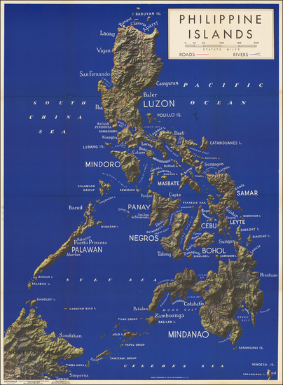 62-Philippines Map By Newsmap