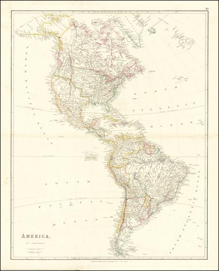 13-America Map By John Arrowsmith