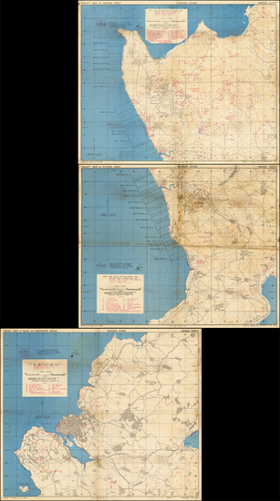 94-Japan and World War II Map By U.S. Navy Photographic Interpretation Squadron Two (Interpron Two