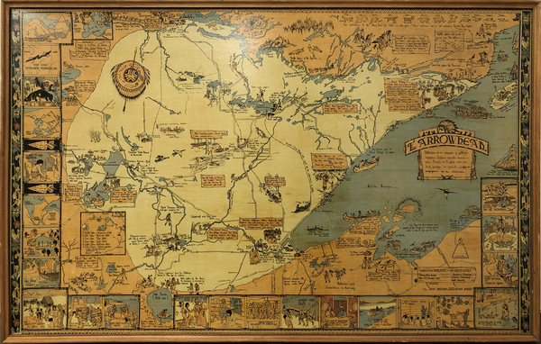 1-Minnesota and Pictorial Maps Map By Irene Anderson  &  Kathryn Arnquist