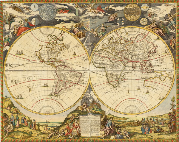 96-World and World Map By Paolo Petrini