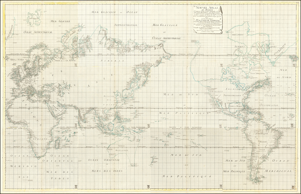 71-World and Atlases Map By Isaac Brouckner