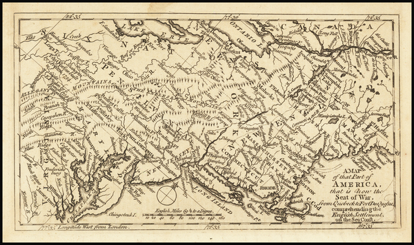 97-United States, New England, New York State, Mid-Atlantic, Southeast and Midwest Map By Grand Ma