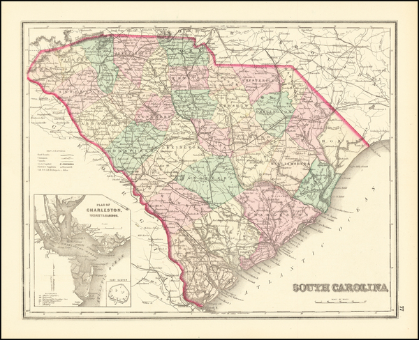 53-Southeast Map By O.W. Gray