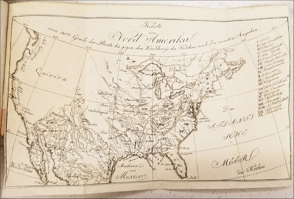 85-United States and Washington, D.C. Map By Eberhard August Wilhelm von Zimmermann