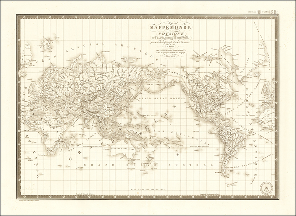 6-World Map By Adrien-Hubert Brué