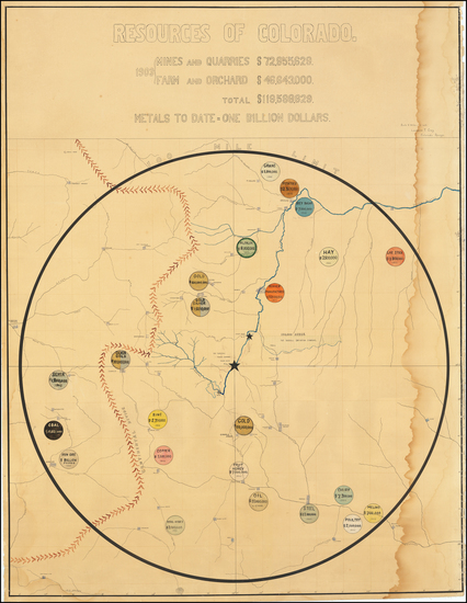 31-Colorado and Colorado Map By Tarryall Power & Reservoir Company