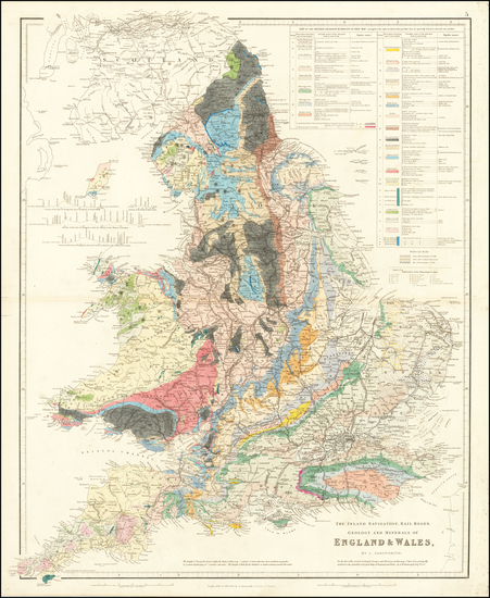 11-England Map By John Arrowsmith