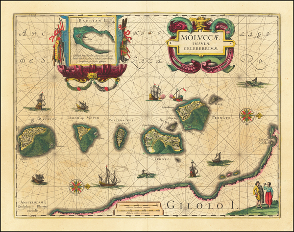 36-Asia and Southeast Asia Map By Willem Janszoon Blaeu