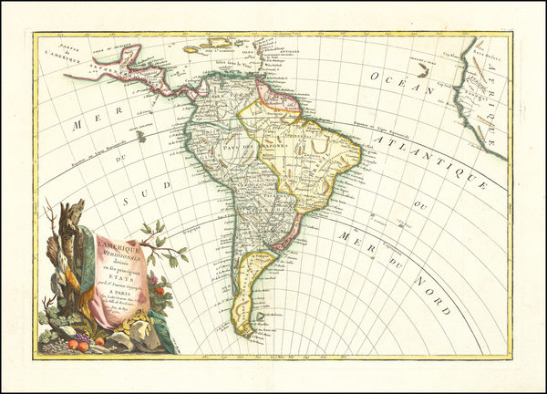 56-South America Map By Jean Janvier